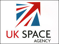 United Kingdom Space Agency logo